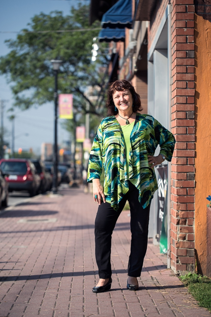 Meet Mary Thorne, the executive director of the Westboro Village BIA. Photo by Justin van Leeuwen