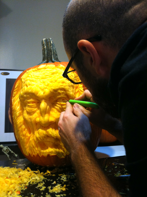 A whole new level of pumpkin carving will be demonstrated at Wickedly Westboro. Photos courtesy of Maniac Pumpkin Carver