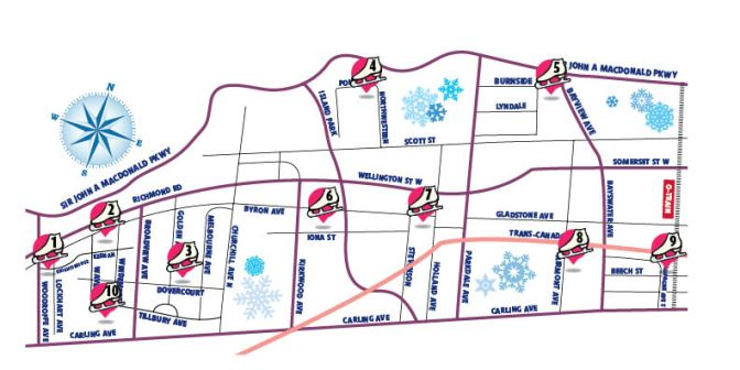 Rink Guide Map 2014
