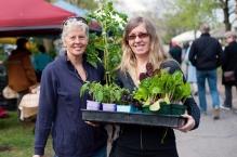 Anne Pitman and friend Rachelle Lamb