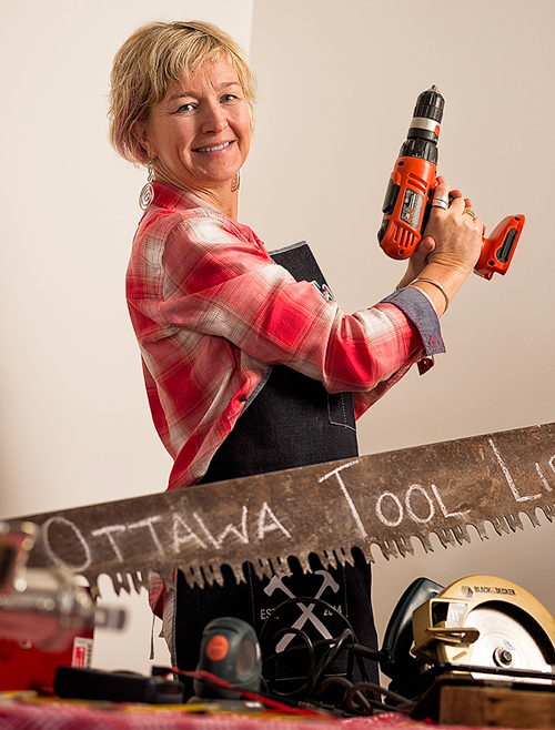 Bettina Vollmerhausen is building the first Tool Library in Ottawa.