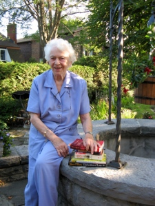 Grete Hale, 86, hopes to spend sunny afternoons reading this summer in the garden of her historical property.