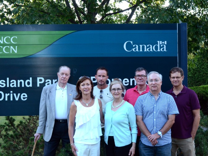 Meet the 2015-2016 Board of Directors of the Island Park Community Association. Left to right, back row: David Glastonbury, Daniel Koepke, Hans Rubarth, Paul Forster. Front row: Jennifer Gillespie, Heather Mitchell, Duff Mitchell. Missing are Catherine Spaulding and Mike Redmond.