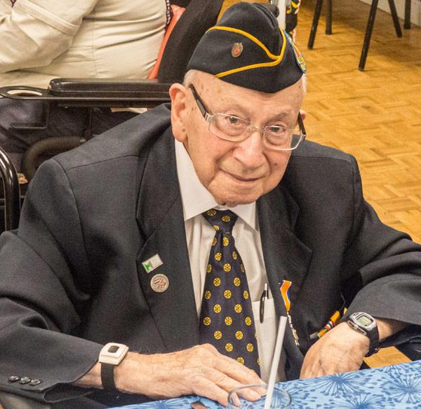 John Franken, Japanese POW and survivor of Nagasaki. Photo by Al Goyette