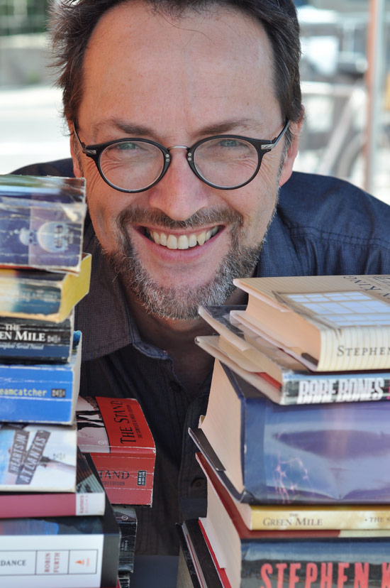 Kitchissippi resident and popular podcaster Bob LeDrew is inviting residents to take a closer look at one of the most popular authors of our time at the Westboro Brainery on October 27. Photo by Andrea Tomkins
