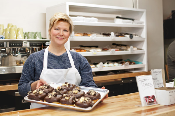 Susan Hamer is the entrepreneur behind one of Ottawa's most popular destinations for doughnuts. Photo by Kate Settle
