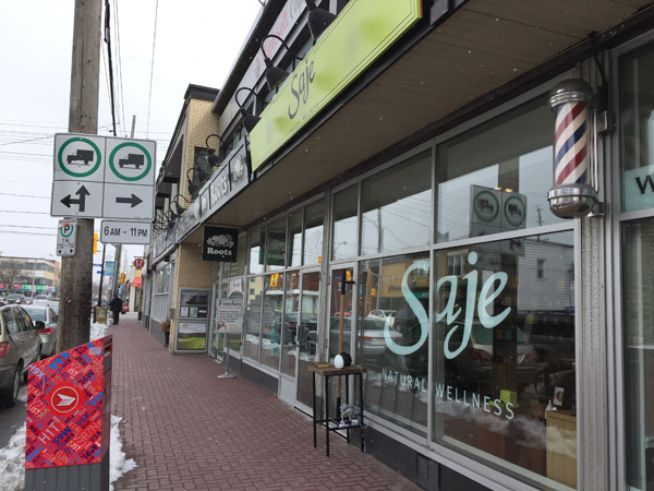 Saje Wellness opened its second Ottawa location in Westboro. Photo by Andrea Tomkins