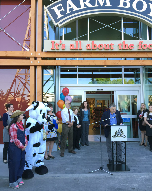 The new Westboro afarm Boy is officially open