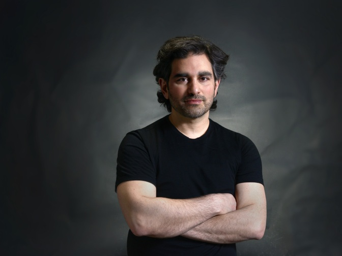 Photo of McKellar Park author, Aram Adjemian, by Shant Manoukian.