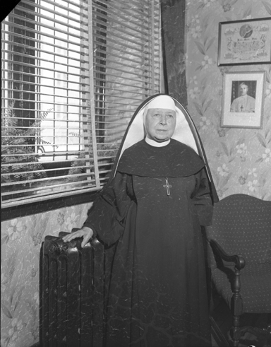 Photo of Sister Marie Thomas D'Aquin courtesy of the City of Ottawa archives.