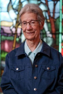 Sister Denise, originally from Orleans, entered the order in 1956 and taught mainly second grade for 30 years. Many students still stop her on the street and keep in touch with updates on their lives and families. Photo by Ted Simpson