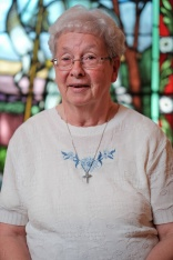 Sister Doris, originally from the Ottawa area, entered the order in 1956. Always interested in international development, she has worked with CIDA and later worked in finance. Photo by Ted Simpson