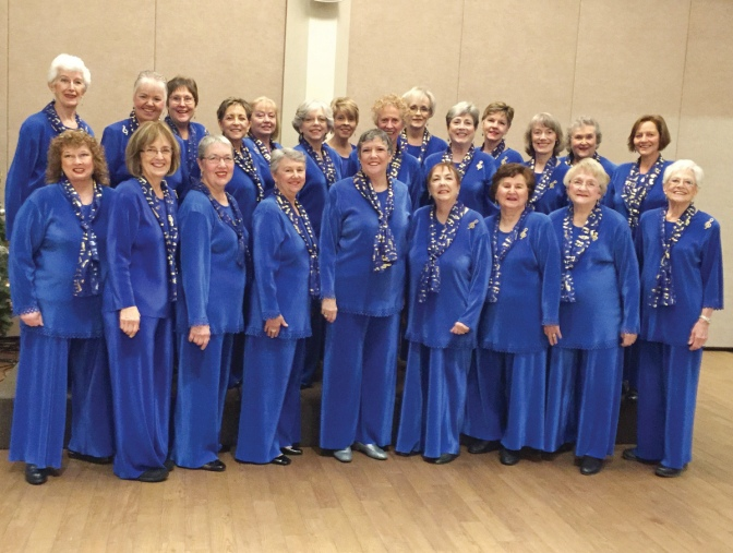Ladies of the Day practice at Unitarian House and perform across the National Capital Region. Photo courtesy of Paulette MacNeil