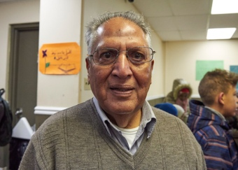 Naeem Mallik, President of the Ottawa Muslim Association. Photo by Ellen Bond