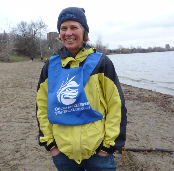 "Meredith Brown, Ottawa Riverkeeper: ""I am the Riverkeeper. It's my full-time job. It's a good fit for me. I have a background in Biology, Resource Engineering and did a Masters focused more on policy. I love this – the combination of science and grass roots and finding solutions. I was the only employee when I started 13 years ago. Now we employ 10 people full time and have hundreds of volunteers who help us out.… It's fantastic."""