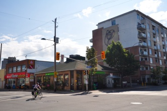 The southeast corner of Holland and Wellington as seen today. Photo by Andrea Tomkins