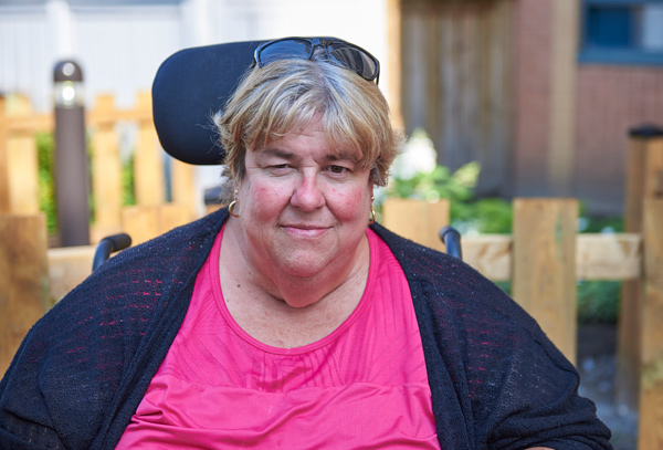 Photo of Janet Timpson by Ellen Bond.