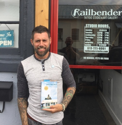 Alex Neron shared his best book pick with KT readers
