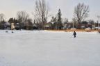 What's it like to flood an outdoor ice rink? Read on.