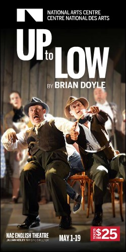 Up to Low by Brian Doyle at the NAC